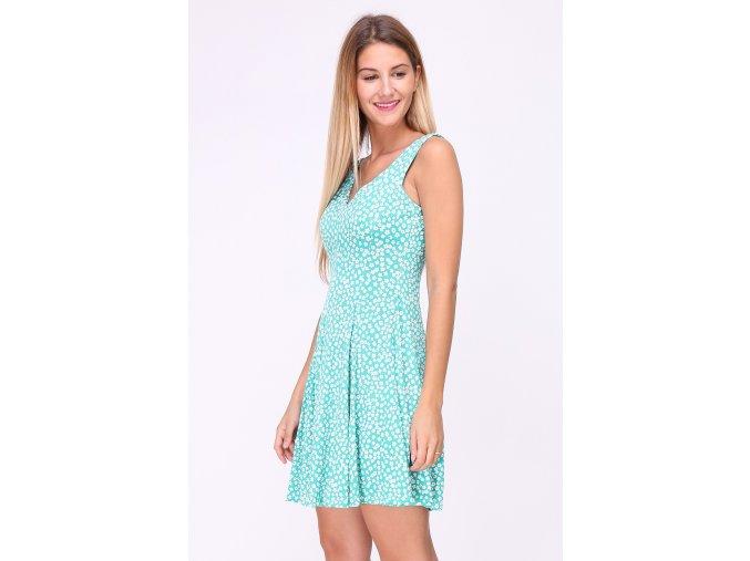 Letní šaty Sibel tyrkysové