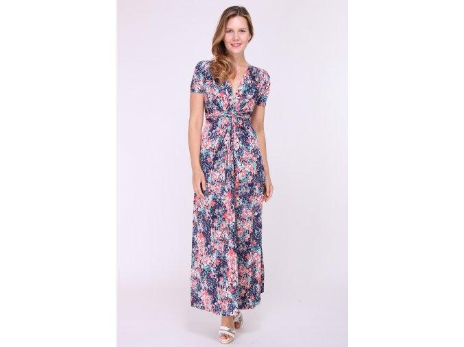 Dlouhé Letní šaty ANGELA modré