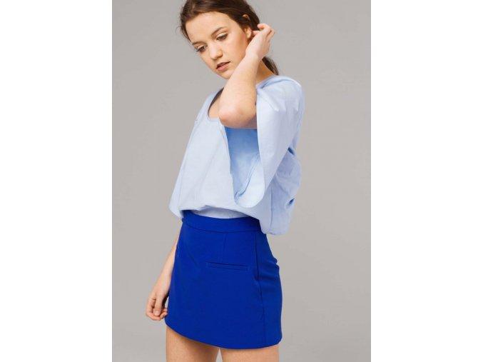 Elegantní šortky  SKORT modré