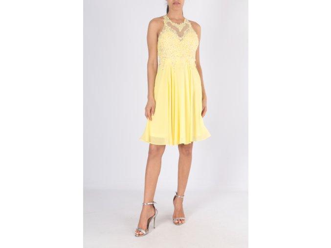 Společenské Šaty LISA žluté