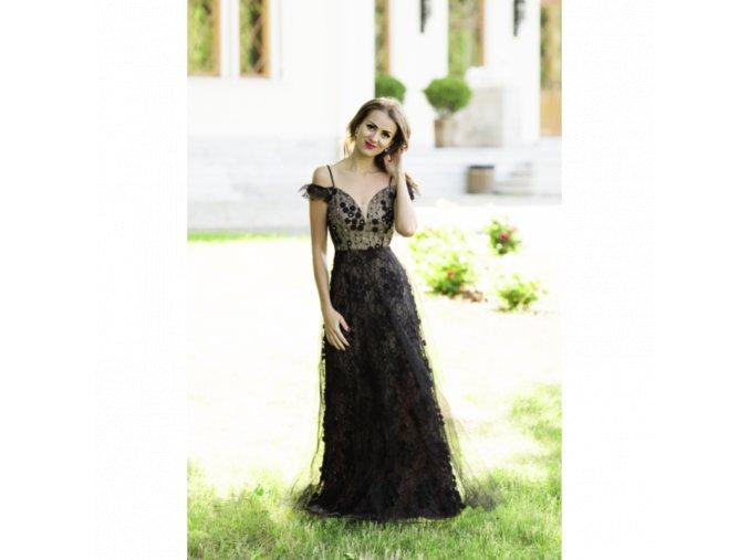 Společenské Šaty MYRIAM černé
