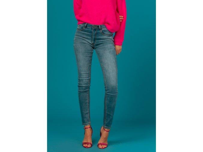 Dámské úzké džíny BLUE
