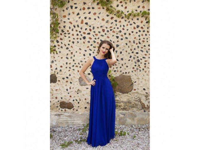 Společenské Šaty ASTRID královská modrá