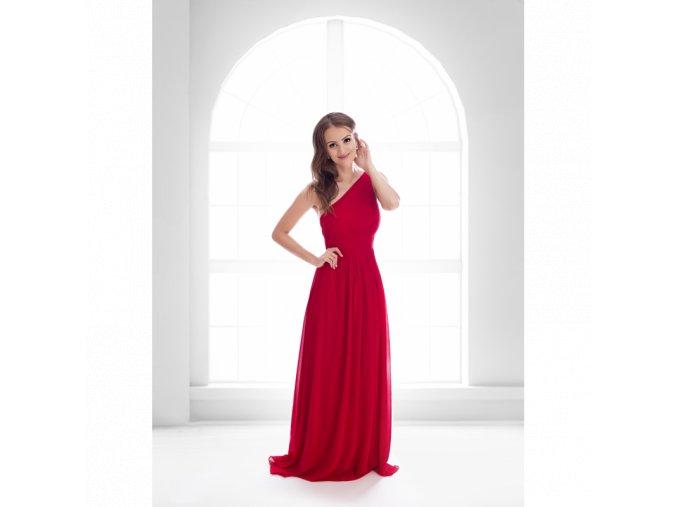 Společenské Šaty ELSIE červené