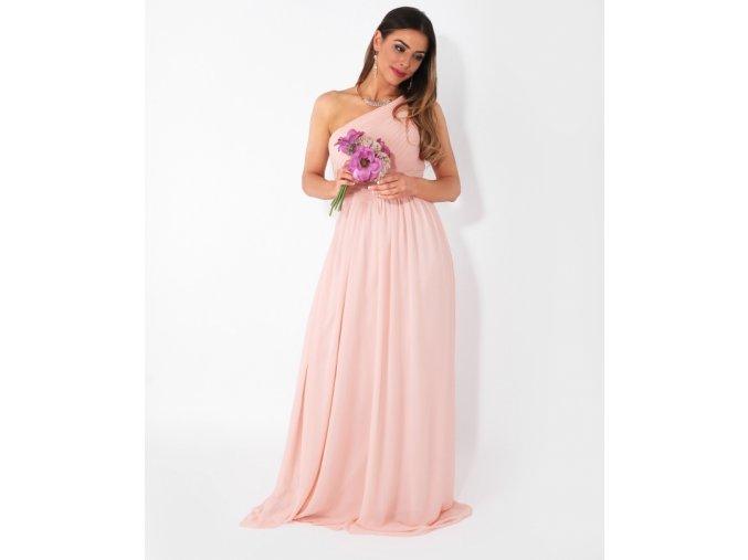 Šaty pro družičky růžové