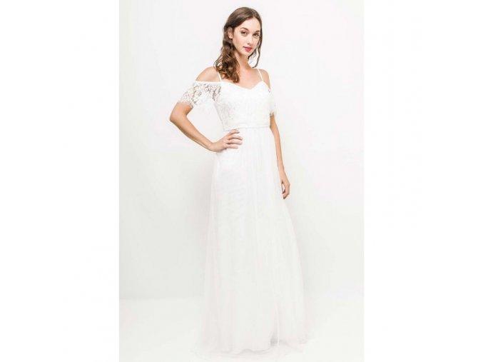 Svatební šaty AUDREY bílé