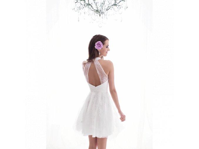 Koktejlové Šaty GLADYS bílé
