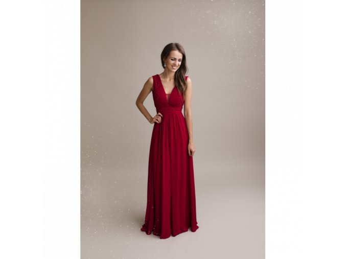 Společenské Šaty IRIS červené
