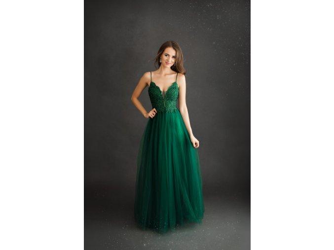 Plesové Šaty MANUELA zelené