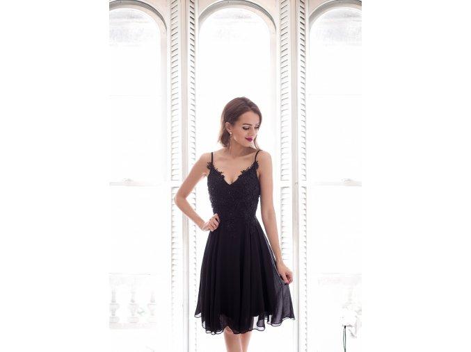 Koktejlové Šaty EVIE černé