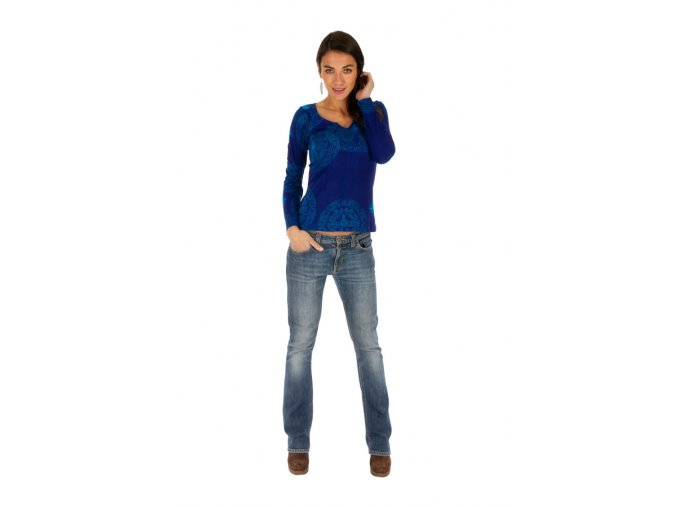 Dámské triko NOLA modré