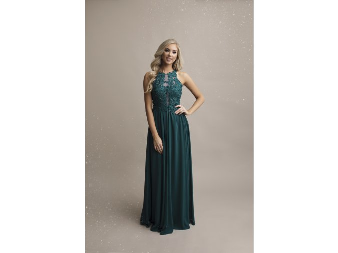 Plesové šaty Sally zelené