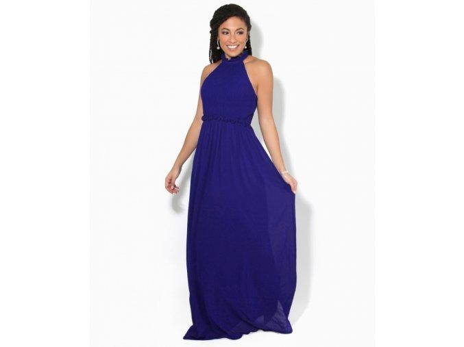 Společenské Šaty pro družičky AERIS modré