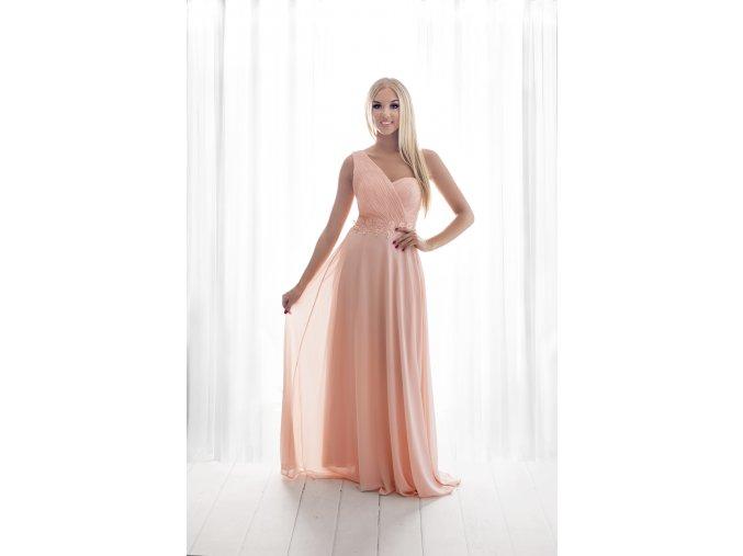 Společenské družičkovské šaty LOHANN růžové