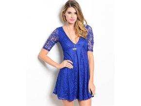 Dámské šaty TCEC DS224167KM královká modrá
