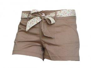 Dámské šortky MOA - hnědé P8976LB