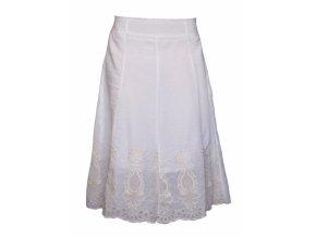 Dámská sukně MOA S8949 bílá
