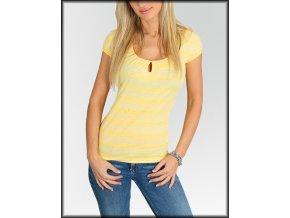 Dámské tričko CI SODO BY CALVANI - žluté C39-2502