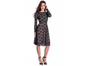 Krajkové šaty AMALIE BLACK