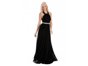 Dlouhé plesové šaty PENELOPE BLACK