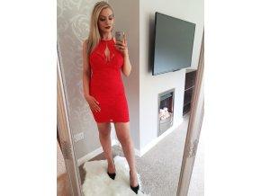 Krajkové šaty DINAH RED
