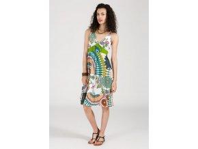 Letní šaty v etnickém vzoru