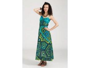 Etnické dlouhé šaty