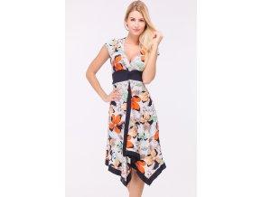 Letní Květované šaty SUZAN CORAL