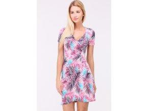 Letní šaty CAMILLES TROPICAL PINK