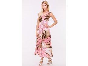 Letní šaty MARTA PINK1