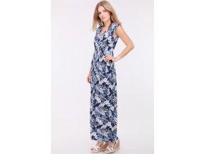 Letní šaty LOVITA BLUE1
