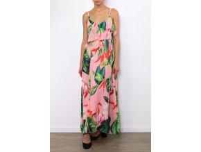 Letní šaty LORIANA PINK1