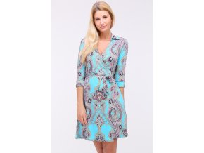 Letní šaty DIANE TYRKYS1