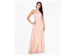Plesové šaty růžové