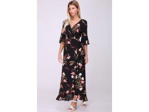 Dlouhé květované šaty