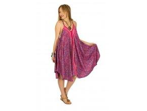 Letní šaty SOLIKA PINK