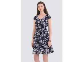 Letní květované šaty