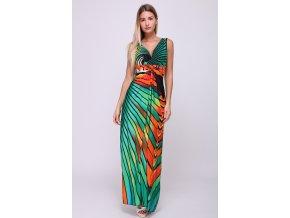 Letní Maxi šaty SARA GREEN