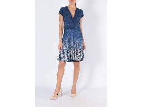 Letní šaty ELA modré