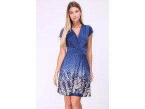 Letní šaty ELA RED modré
