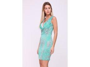 Letní šaty Nova zelené