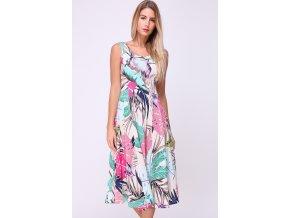 Letní midi šaty