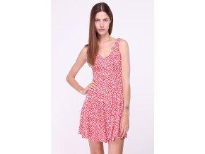 Letní šaty Sibel červené