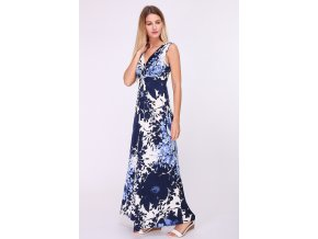 Letní Maxi šaty SARA modré