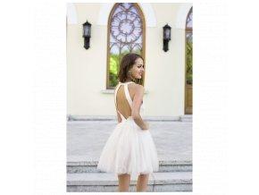 Koktejlové Šaty ERICA bílé