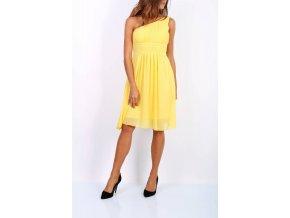 Společenské Šaty EDITA žluté