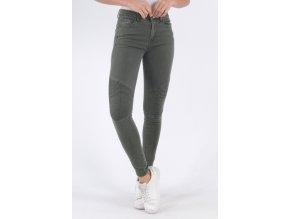 Dámské džíny SKINNY khaki