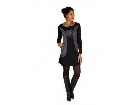 Etnické šaty MANA černé