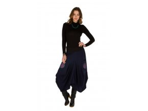 Etnická sukně LEONA Modrá
