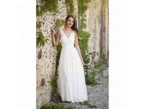Svatební šaty JOELLE bílé